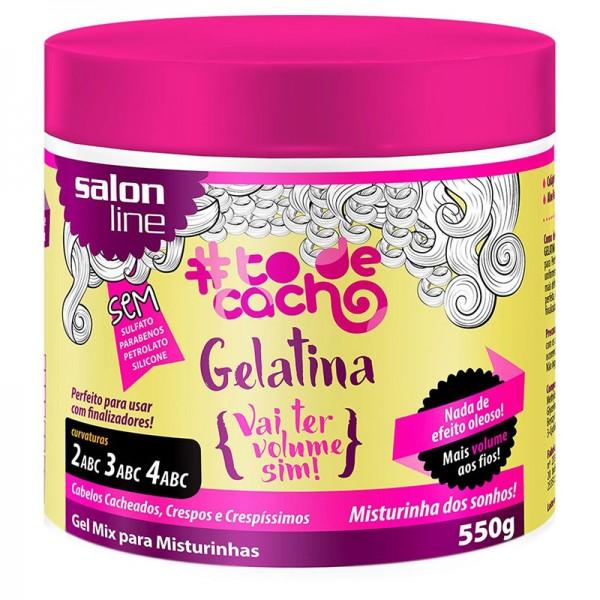 Gelatina Salon Line Vai ter Volume Sim!