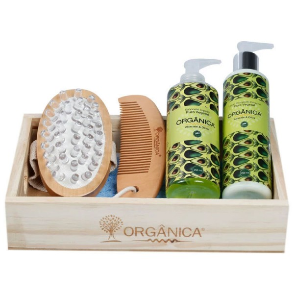 Organica Kit Banho Suave